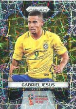 Prizm World Cup 2018 Laser Parallel Base Card #32 Gabriel Jesus - Brazil