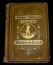 Twenty Thousand Leagues Under the Seas Jules Verne Illustrated Maps Circa 1876