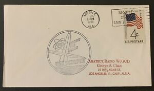 April 15,1961 US Naval Cover, Cold War USS Sculpin/25th Ann.Mob.Support(SEALED).