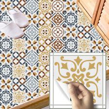 20 PCS DIY ART VINTAGE TRANSFER SELF-ADHESIVE BATHROOM KITCHEN WALL TILE STICKER
