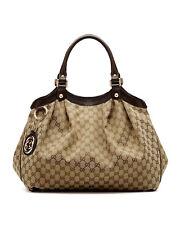 NWT Gucci Sukey Original GG Canvas Large Tote Shoulder Bag