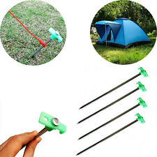 Outdoor Solid Steel Awning Camping Accessories Canopy Stake Peg Tent Nail zz