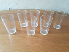7 Verres / verrines transparents