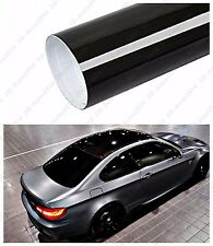 """120""""X 53"""" GLOSS BLACK Vinyl Film Wrap Sheet With Air Release Pockets Bubble Free"""