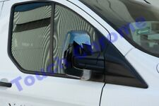2012Up Ford Transit Custom Tourneo Abs Chrome Wing Mirror Cover 2Pieces(Black)