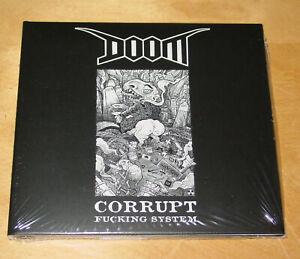 Doom - Corrupt Fucking System CD (crust, punk, d-beat)