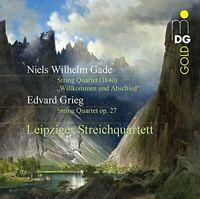 """Leipzig String Quartet - Niels Wilhelm Gade: """"Willkommen und [CD]"""