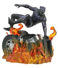 "BLACK PANTHER - Car Wreck 9"" Marvel Gallery PVC Diorama (Diamond Select Toys)"