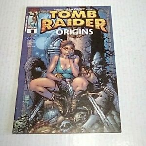 Tomb Raider Origins #1 (TopCow) 2000 -- David Finch cover -- VF/VF- --