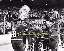 SERGE SAVARD & Montreal CANADIENS Celebrate 1977 STANLEY CUP 11x14 Photo HOF GR8