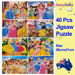 1 x Disney Princess Snow White 40-piece Jigsaw Puzzle Toy Best Gift for Kids