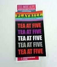 Faye Dunaway Boston Tea At Five Pre-Broadway Playbill Katharine Hepburn