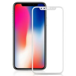 6D Curved Full Tempered Glass Protector For iPhone XS Max XR X 8 7 11 12 13