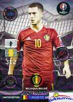 2016 Panini Adrenalyn Road to Euro Eden Hazard Limited Edition MINT !
