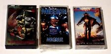 METAL GOTH LOT OF 3 CASSETTES THE MISSION ARMORED SAINT DANZIG THRALL VG+ USED