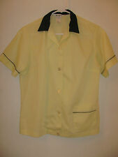 Vintage 1970's  Nat Nast Creation Teen Girls Bowling Shirt Size 34