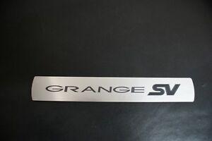 HSV Gen-F WN GRANGE SV Scuff plates Sill Plates Rear doors. Genuine HSV Parts
