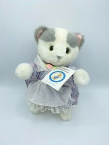 "Rare Vintage Eden Beatrix Potter 11"" Tabitha Twitchit Cat Plush Stuffed Animal"