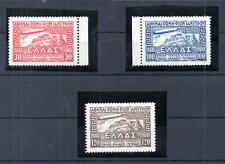 Greece ZEPELIN Issue = ΖΕΠΕΛΙΝ 1933 RRR MNH, Airship Graf LZ-127 over Acropolis