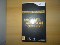 Michael Jackson: The Experience Nintendo Wii collectors edition new sealed pal