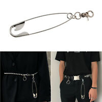 Punk Super Big Keychain Wallet Belt Chain Hipster Pant Jean Pins KPOP Jewelry