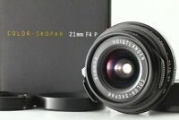 *Mint in Box* Voigtlander Color Skopar 21mm f/4 P VM lens for Leica M From Japan