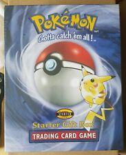 1999 Pokemon Trading card game Starter gift box never opened factory sealed