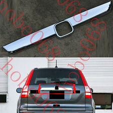 1x For Honda CRV 2007-11  ABS Rear Hatch Tailgate Cover Bezel Decorative BarTrim