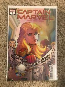 Captain Marvel #8 1st print 1st app of RIpley Ryan as STAR Marvel comics 2019 NM