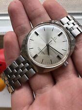 Vintage Omega Seamaster Cosmic 70s Steel Manual Wind Mechanical Watch