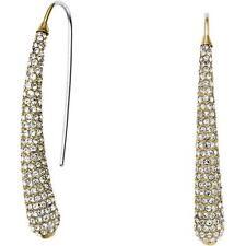 MICHAEL KORS Brilliance Gold Tone Drop Hook Earring MKJ4027710 MSRP $125