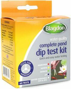 BLAGDON COMPLETE POND WATER DIP TEST KIT 0755349027774