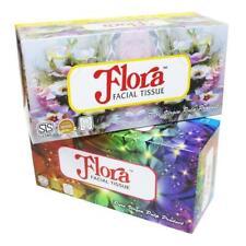 Flora FACIAL TISSUE Box 2 Ply Made in Sri Lanka pure Virgin Pulp best-200 Sheet