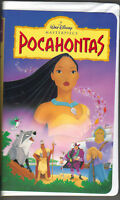 Walt Disney POCAHONTAS (VHS, Clamshell) Masterpiece Collection  PC