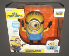 MINIONS Movie Dancing Stuart Minion Grooves to Music & Sounds Talking Figure NEW