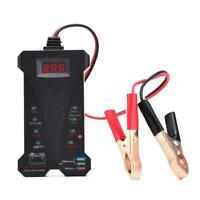 12V Car Battery Tester 8 LED Digital Alternator Tester Analyzer Load Auto N9M3