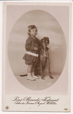 Vintage Postcard Prince Alexander Ferdinand of Prussia