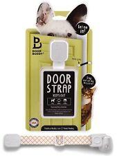 Door Buddy Adjustable Door Strap  Latch. Easy Way To Dog Proof Litter Box. No
