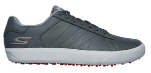 Skechers Mens GO Golf Drive 4 Golf Shoes 54533 CCRD Concrete/Red New