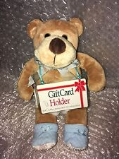 CVS PLUSH BABY BOY BEAR IN BLUE DIAPERS & BOOTIES