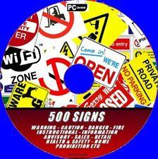 500 + Imprimible Esencial Cartel Salud/Seguridad Coshh Trabajo Hogar Comercio QC