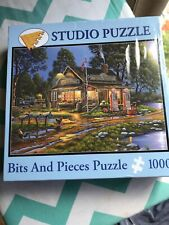 """New 1000 piece Bits and Pieces Studio puzzle; """"Remember When"""" Sealed"""