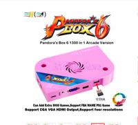 Pandora box 6 1300 in 1 original arcade jamma arcade game board 1pcs HDMI out