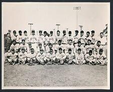 1940's CALIFORNIA LEAGUE ALL STAR TEAM Rare Vintage Baseball Photo