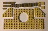 New Lego 18 Piece Part Lot Dark Tan and Tan Color Plate Brick Tile 18601 Large