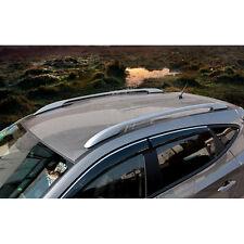 Sliver Side Bars Rails Roof Rack Fit For Mazda CX-5 CX5 2012 2013 2014 2015 2016