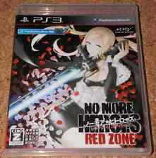 FREE SHIP USED No More Heroes Red Zone Edition PS3 japan import