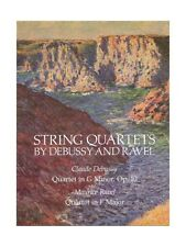 Claude Debussy And Maurice Ravel String Quartets Learn String Quartet MUSIC BOOK