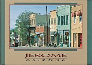 """Jerome, Arizona - """"Old"""" Notorious Wild West Copper Mining Town on Cleopatra Hill"""