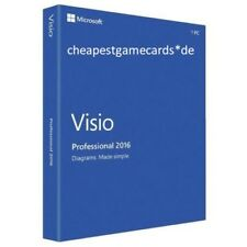 MS Visio 2016 PRO Microsoft Visio 2016 Professional product key per email